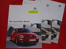 VW New Beetle Prospekt + Preisliste von 2005