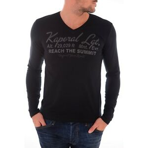 Tee shirt manches longues Homme KAPORAL 5