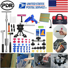 84 Pdr Tools Kit Dent Lifter Puller Line Board Auto Paintless Hail Removal Set