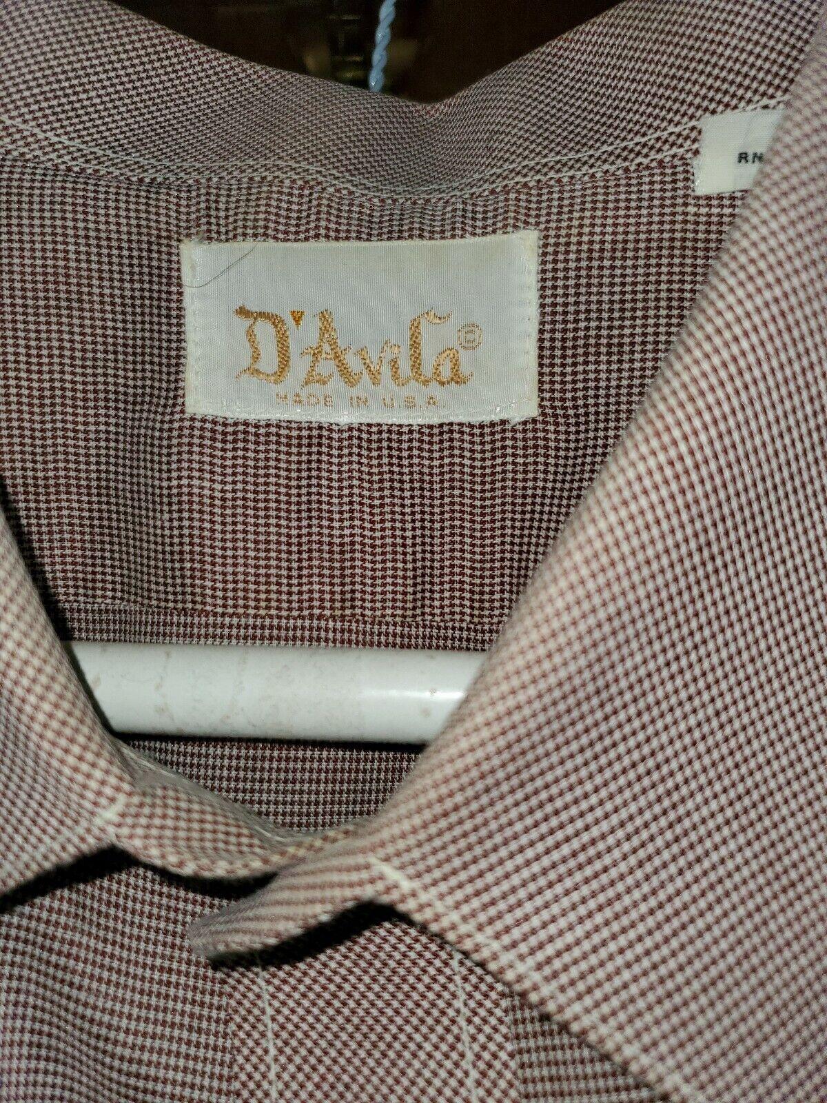 Vintage men's shirt XL 60's/ 70's - image 4