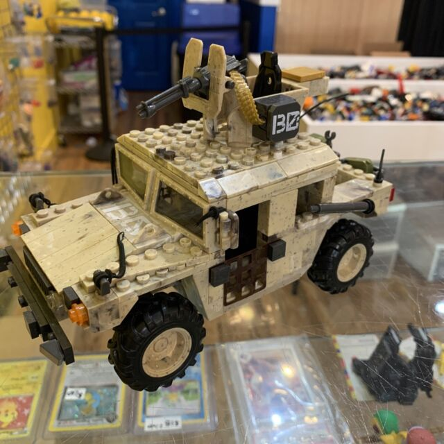 mega bloks call of duty light armor firebase model 06817 Incomplete No minifigs