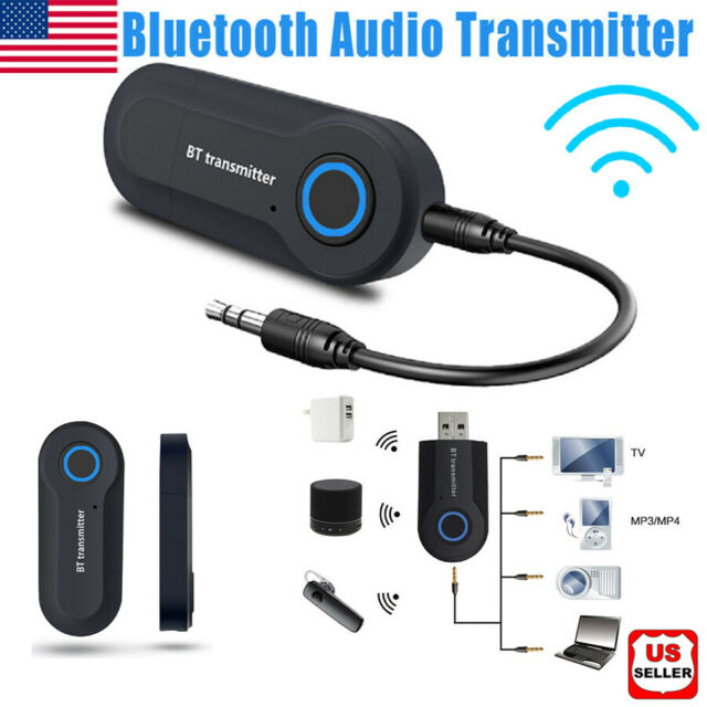 USB Adapter HUB Wireless Bluetooth V4.0 Transmitter A2DP Audio RCA to 3.5mm AUX