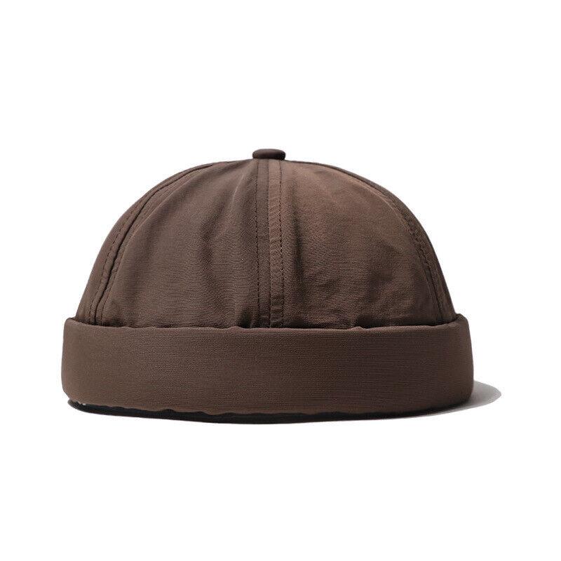 Herren Outdoor Mütze Schnelltrocknend Kappe Wandern Retro Streetwear Ohne Krempe