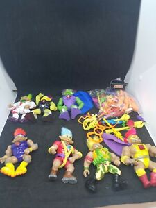 Stone-Protectors-Action-Figures-Lot-of-7-Vintage-1992