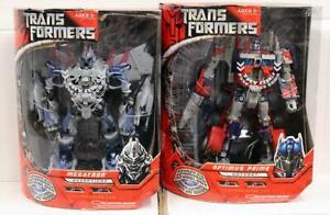 Transformers Advanced Automorph Technology Leader Class Optimus Prime & Megatron