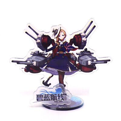 Gaming Azur Lane USS Enterprise Acrylic Desk Display Stands Figurine Ornaments