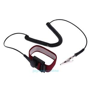 Anti-Static-Wrist-Strap-2m-Cable-ESD-Grounding-Discharge-Electricity-Protection