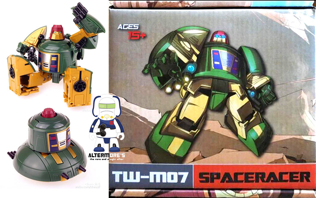 Transformers Masterpiece ToyWorld TW-M07 Spaceracer Spaceracer Spaceracer aka MP Cosmos MIB 6afbdf