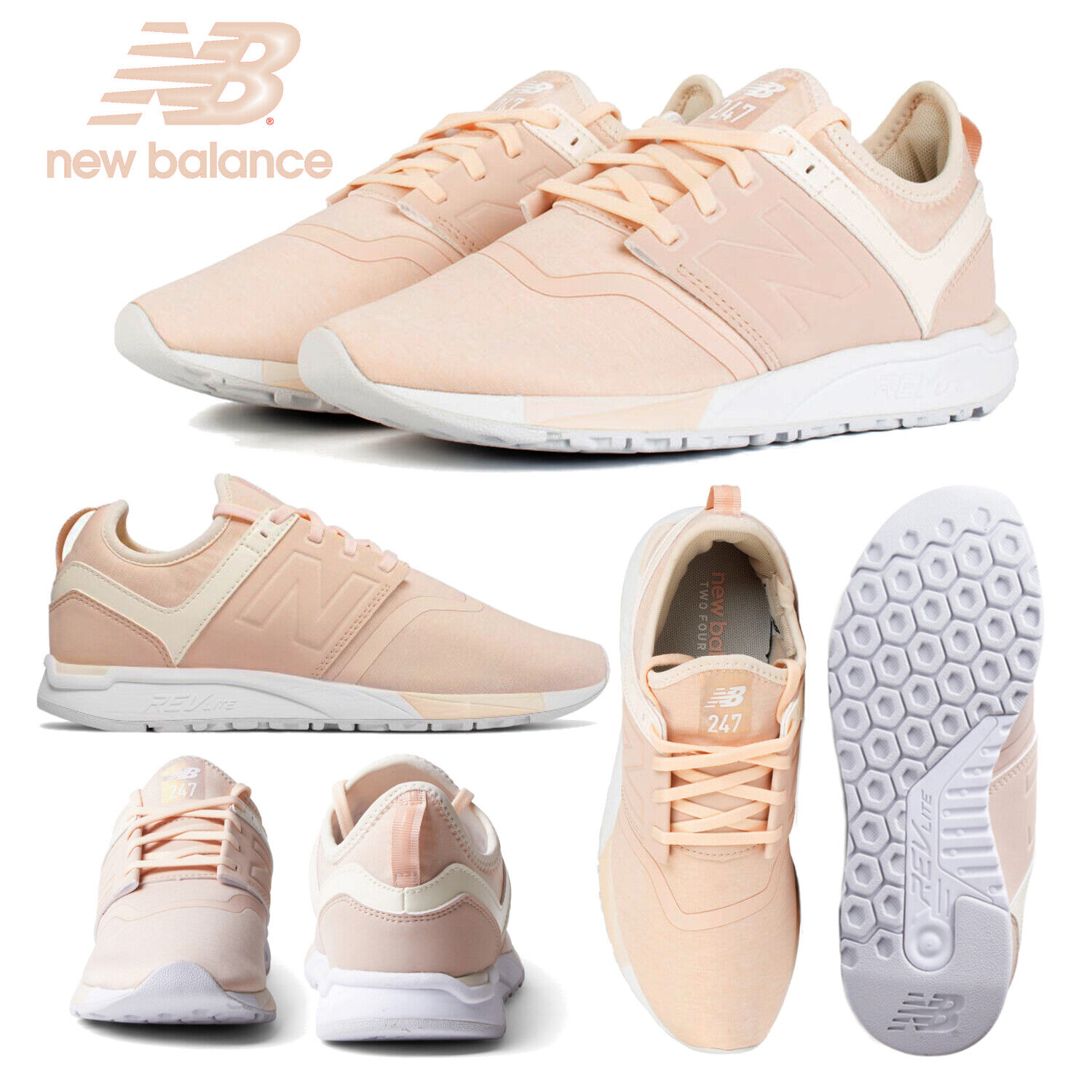 New Balance shoes 247 Classic Women's WRL247YC Light Pink Fashion Sneaker RP  80