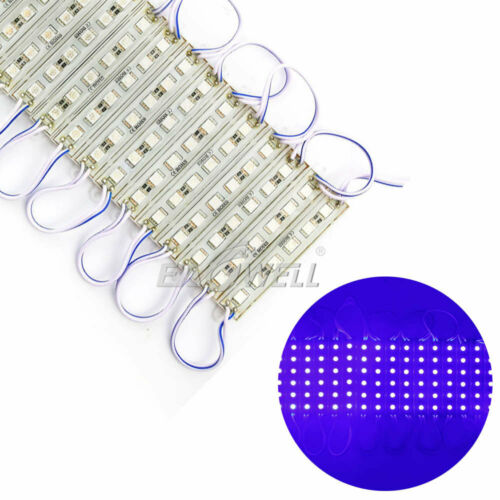 1~10PC Super Bright Waterproof 5054 SMD// 5050 SMD LED Module Lights Lamp DC 12V