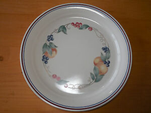 Image is loading Corelle-ABUNDANCE-Set-of-6-Dinner-Plates-10- : multi colored dinner plates - pezcame.com