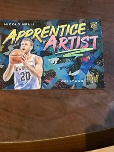 Nicolo-Melli-2019-20-Court-Kings-Apprentice-Artist-Rookie-RC-4-Pelicans-MX