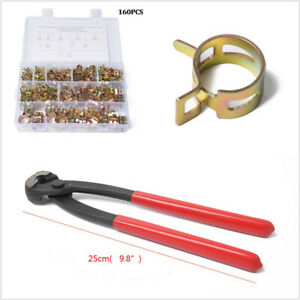 For Vacuum//Fuel Car 6-14mm Spring Clips Hose Clamp Accessories Part Set With Box