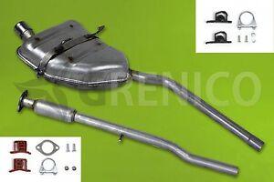 Auspuffanlage-Endtopf-MINI-COOPER-1-6-16V-Cabrio-Schraegheck-Montagesatz