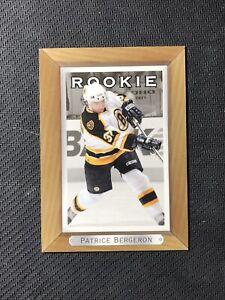 2003-04-UPPER-DECK-BEE-HIVE-PATRICE-BERGERON-ROOKIE-202