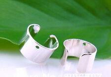 """~ UK Seller ~   2  x Silver Tone Ear Cuffs Clips Studs Wrap Earrings """"New"""""""