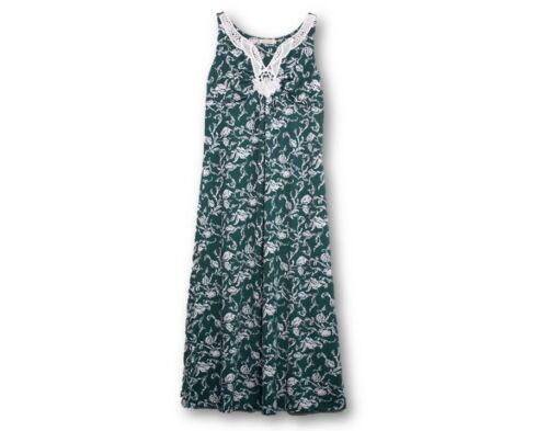 XL Women/'s Summer Maxi Dresses Sleeveless Crochet Floral Size S
