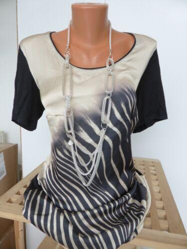 210 Sheego Blouse shirt taille 40 et 48 NEUF