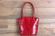 Leather Handmade Tote Bag Indian Shantiniketan Boho Purse Small Shopper Girls