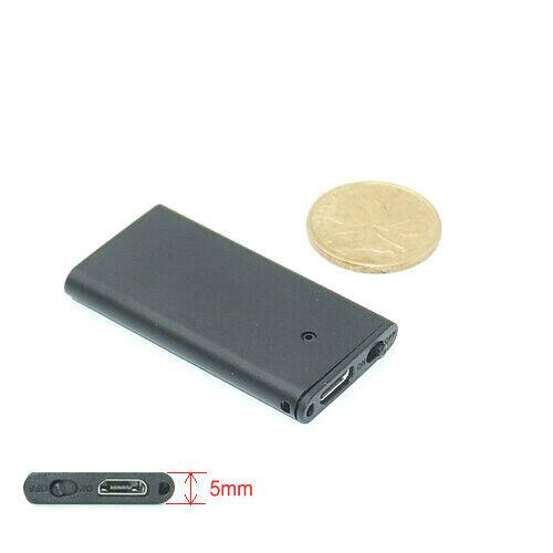 Mini Voice Recorder Auto Haus Zimmer automatische Geräuscherkennung Spionage A37