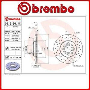 09-5166-1X-127-DISCO-FRENO-ANTERIORE-SPORTIVO-BREMBO-XTRA-VW-PASSAT-Variant-3A5