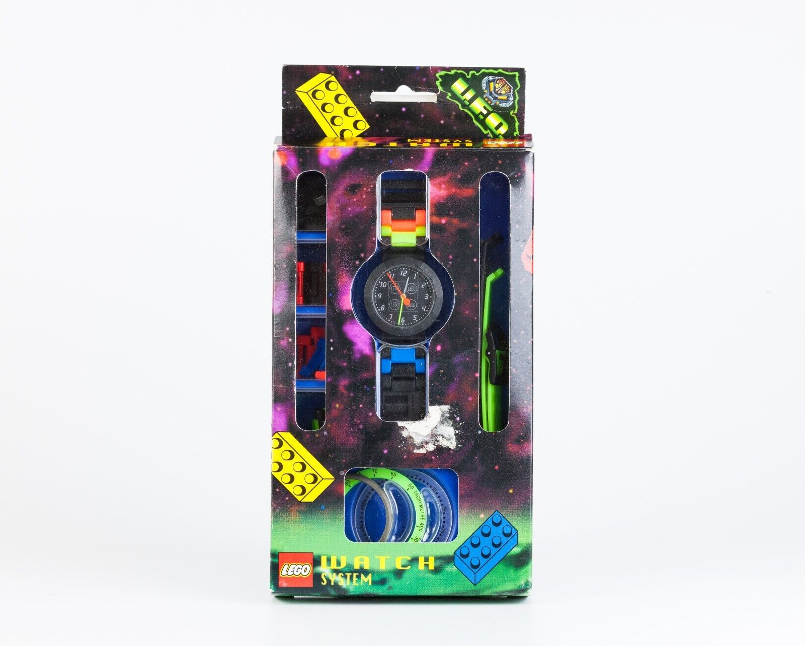 VINTAGE 1997 LEGO WATCH SYSTEM UFO RARE SWISS MADE