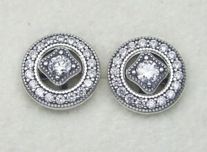 24db699a68ae0 promo code authentic pandora earrings vintage allure ff703 5533d