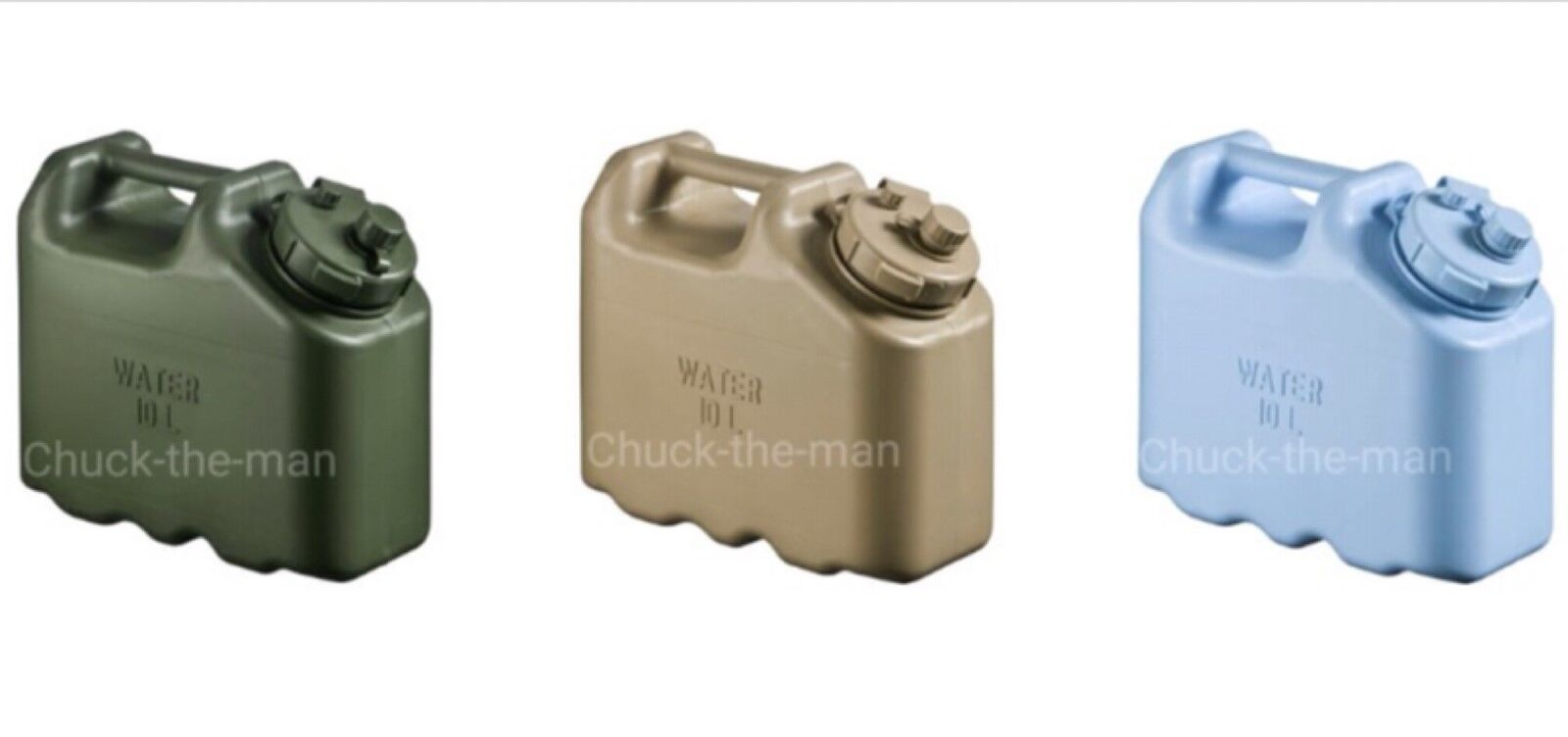 SCEPTER  MILITARY WATER CANS Jerry Container Camping Survival Emergency 10L  lightning delivery