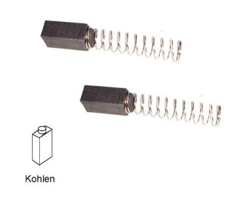 Kohlebürsten Motorkohlen für Metabo STE 451//2 E 452-6x6x15mm 2109