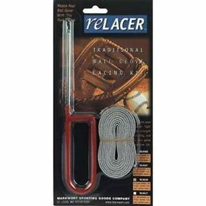 Glove-Relacing-amp-Repair-Relacer-Kit-Relace-Tool-63-034-Lace-Baseball-Softball-MLK63