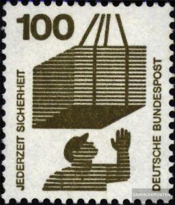 BRD-BR-Deutschland-702A-Rd-mit-Zaehlnummer-gestempelt-1971-Unfallverhuetung