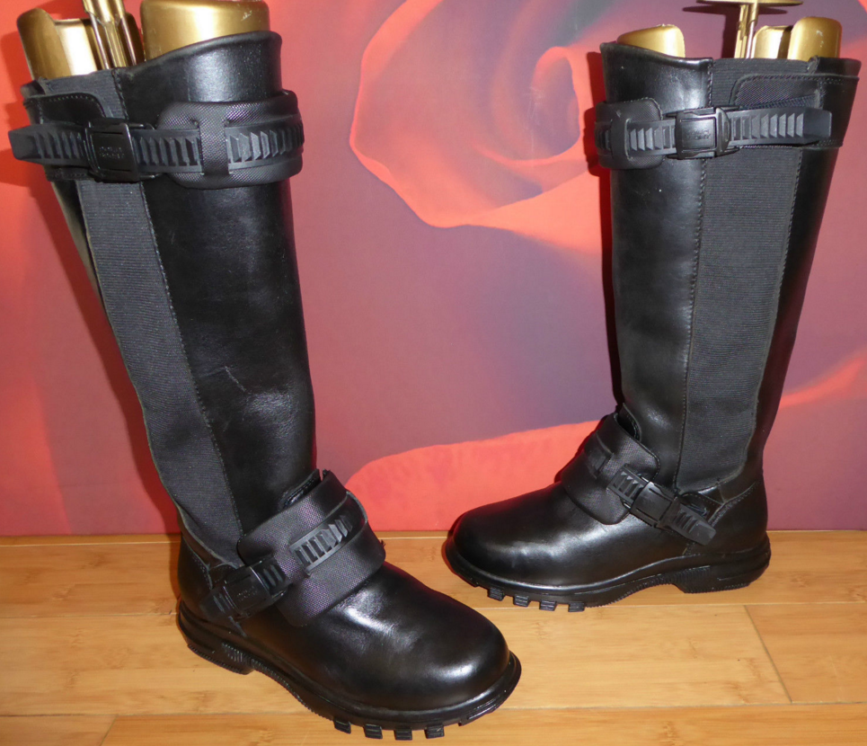 B3 SAMPLE RALPH LAUREN POLO SPORT BOOTS chelsea motorcycle biker UK 3.5 USA 6