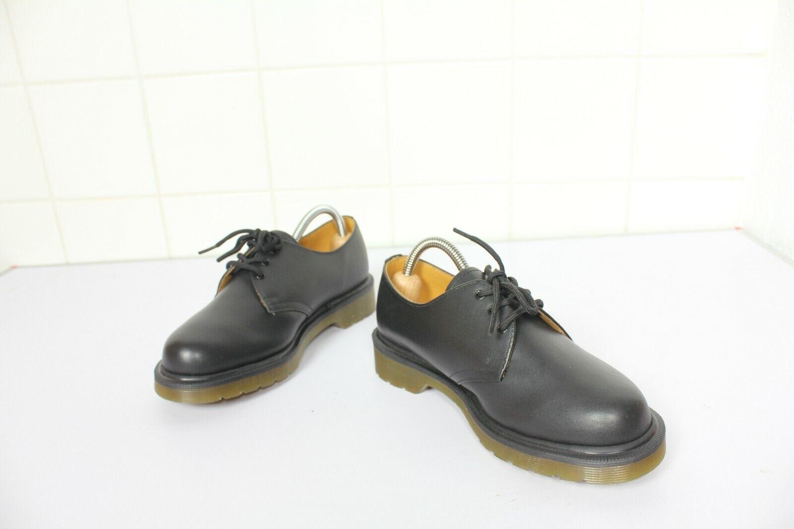 Dr. Martens Martens Martens Greasy elegante zapatos cuero genuino negro eu 37-uk 4 - nuevo sin cartón  te hará satisfecho