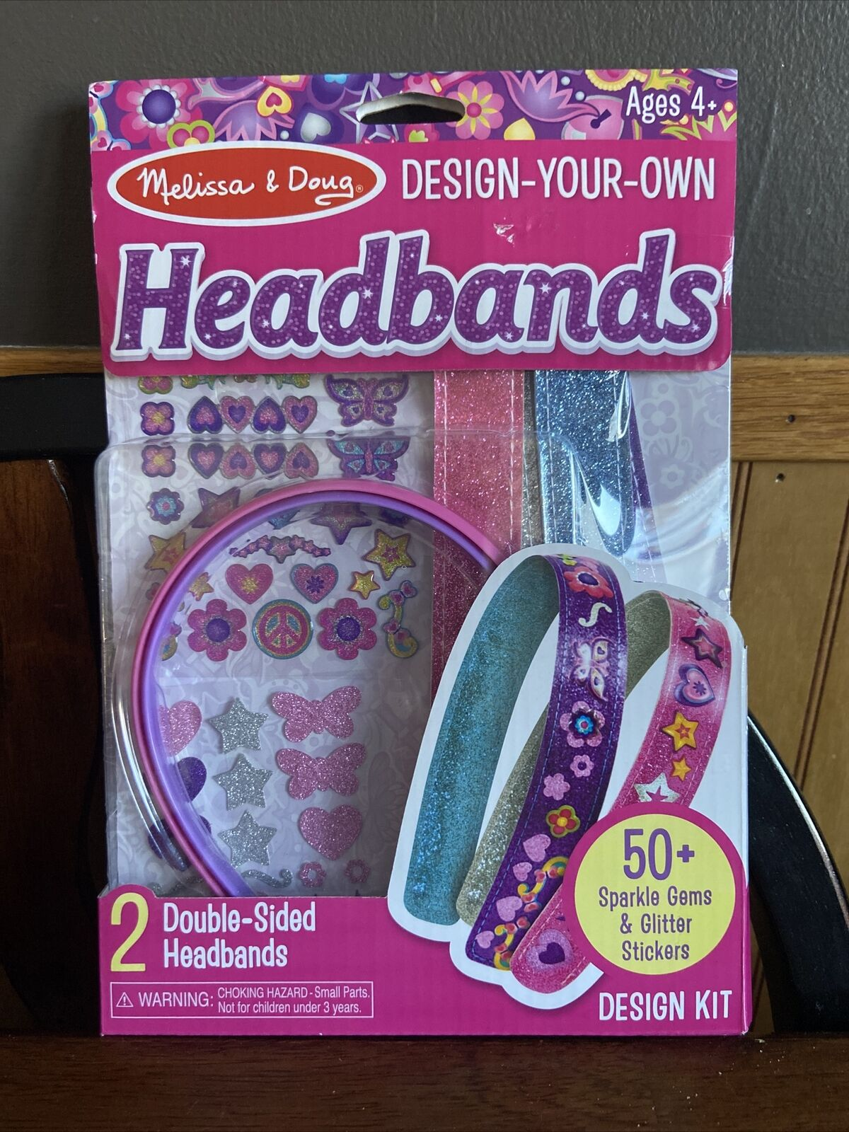 Created by Me Headbands Design and Decorate Craft Kit #5548 Melissa /& Doug