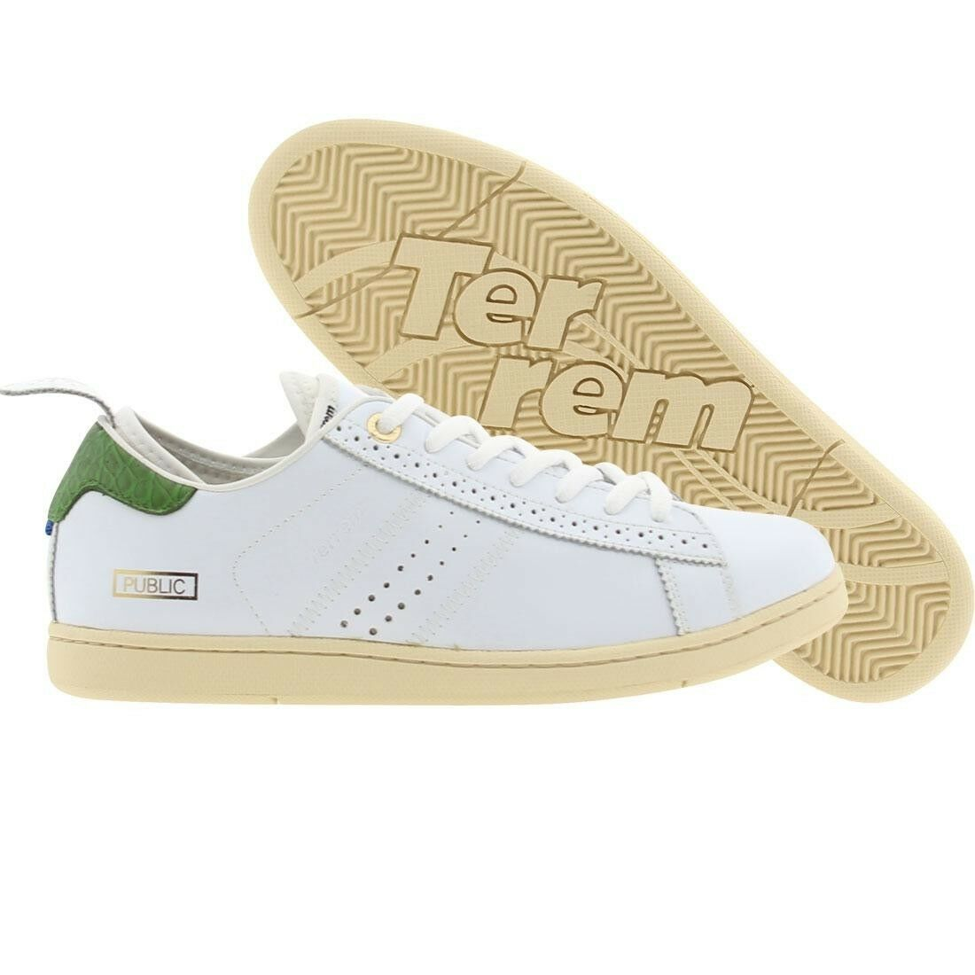 189.99  190 Terrem Men Public Cl (Weiß   Grün) 10WCL-WHTGRN