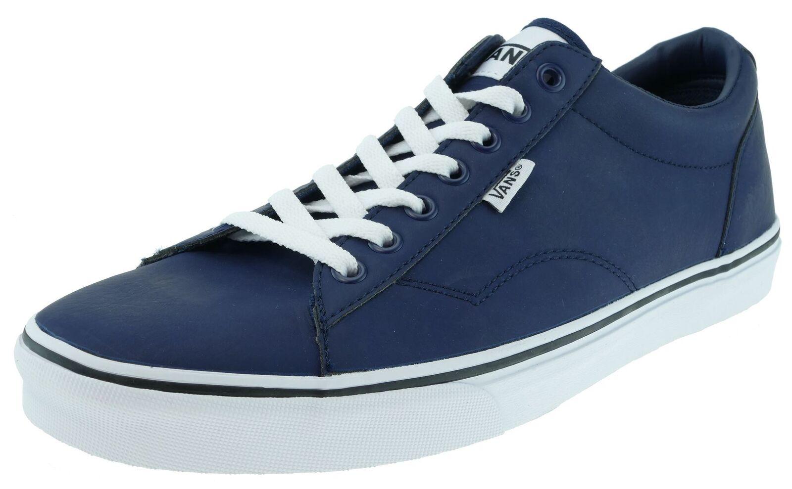 Vans DAWSON  Active leather dress bluees white Gr.44,5