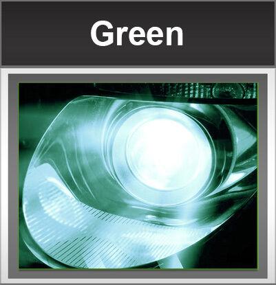 Xentec Super Slim 55 Watts 9005 HB3 Green HID Xenon Conversion Kit High Beam