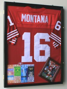 nfl jersey display case