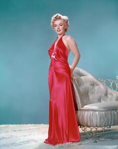 6c72ae9b9 Marilyn Monroe Red Dress Stretched Canvas Movie Poster Art Print 60s ...