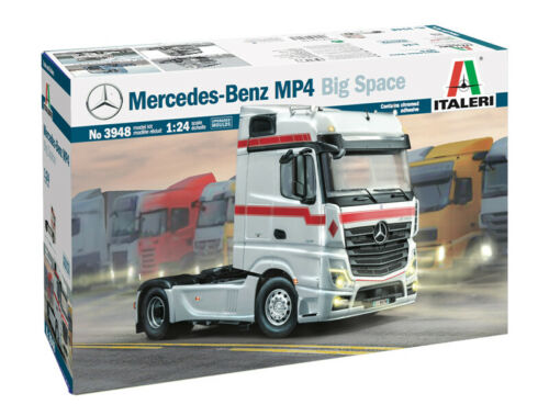 Italeri 3948-1//24 Mercedes-Benz MP4 Big Space Neu
