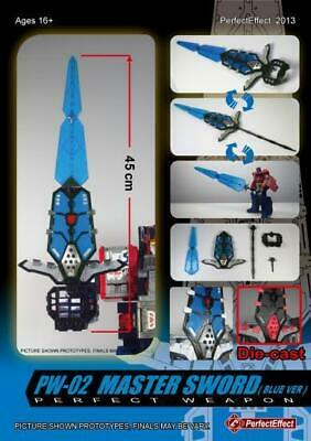 PW02 MASTER SWORD BLUE VER Perfect Effect PW-02 IN STOCK Hilt Parts Set