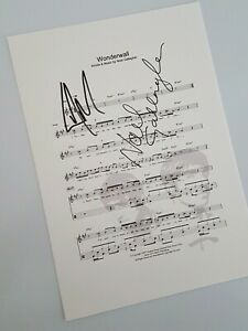 Oasis-Wonderwall-Music-Sheet-Print