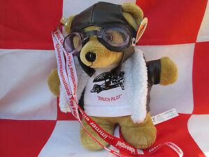 Teddy-034-BRUCHPILOT-034-25-cm-gross-Flieger-YAKAiR-Aircraft-Fliegerbaer