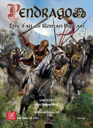 Pendragon  The Fall of of of Roman Britain Boardgame New by GMT English Edition 870aa1