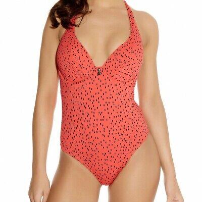 Freya Swimwear Pip Sweetheart Padded Bikini Top Coral 3749