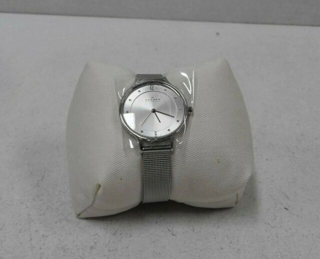 Skagen Anita Analog Silver Dial Women's Watch - SKW2149 (Need New Battery)