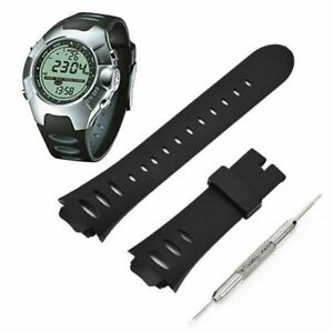 Silikon For SUUNTO OBSERVER SR X6HRM Armband Uhrenarmband Uhr Band Strap Teile