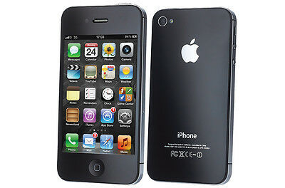 Apple iPhone 4 8GB Black GSM Factory Unlocked Smartphone ***FAST SHIP FROM NY***