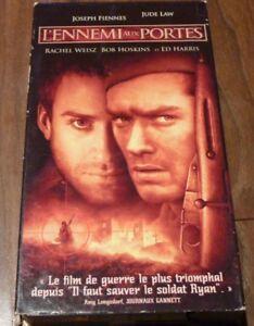 VHS-French-Movie-L-039-ennemi-aux-Portes-Enemy-At-The-Gates