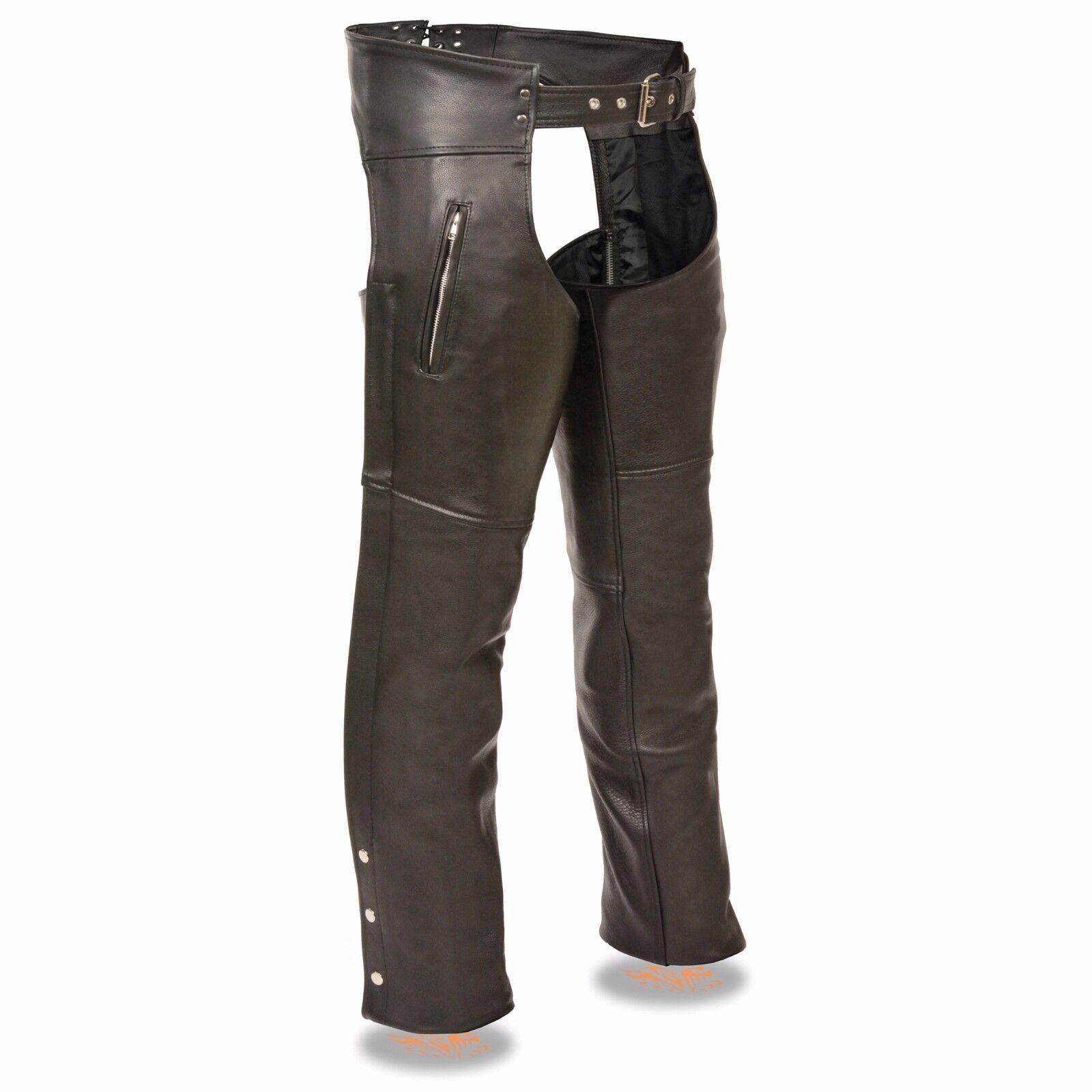 Milwaukee leather CHAP para para para hombre con bolsillos con cremallera muslo-SH1190 83a103